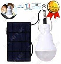 TD® Ampoule lampe solaire énergie solaire LED