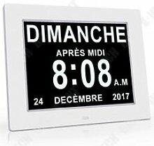 TD® Horloge réveil idéale, Pratique pour vie du