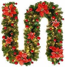 TDCQ Décoration Noël Guirlande, Guirlande en