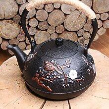 Tea Soul B6021207 Théière grénelée en Fonte