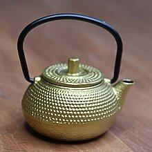 Tea Soul B6021212 Cast Iron théière Gold 100 ML,
