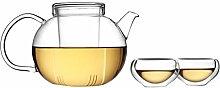 Tea Soul B6021837 Service Á Thé Théière et 6