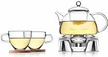 Tea Soul B6021838 Service Á Thé avec Support