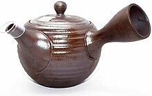 Tea Soul Théière japonaise, Brun foncé