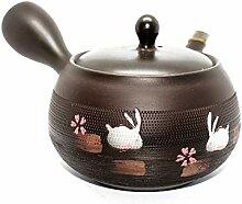 Tea Soul Théière japonaise, Noire