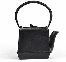 Teapot Teapot Bouilloire en fonte sur le Steak