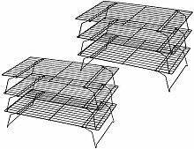 Tebery Lot de 2 grilles de refroidissement