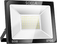 Techbox - Projecteur LED 60W, IP66 Imperméable,
