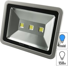 Techbox - Projecteur led extérieur 150w Blanc