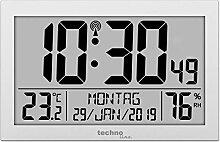 Technoline Horloge Radio-pilotée, Matériau :