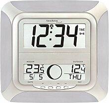 Technoline WS8118-IT Horloge Radio- Pilotée Noir