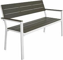 Tectake - Banc de jardin LINE - meuble de jardin,