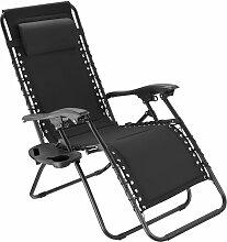 Tectake - Chaise de jardin MATTEO - fauteuil de