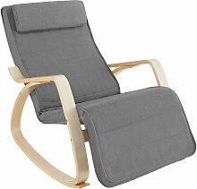 Tectake - Fauteuil à bascule ONDA - fauteuil