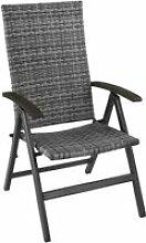 Tectake fauteuil de jardin pliable melbourne -