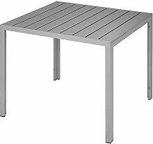 TecTake Table de Jardin Carrée, Meuble