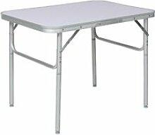 Tectake table pliante valise 401066