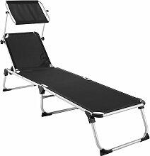 Tectake - Transat AURELIE - chaise longue de