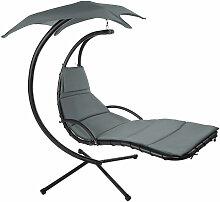 Tectake - Transat suspendu KASIA - fauteuil relax,