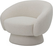TED - Fauteuil blanc Bloomingville