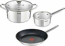 Tefal B815S4 Simpleo Lot de 4 casseroles et