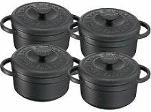 TEFAL E223S404 Set de 4 Minis Cocottes fonte