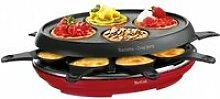Tefal Raclette - Fondue Raclette Colormania rouge