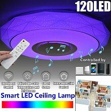 Télécommande LED lustres pour salon chambre
