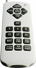 Télécommande pour projecteur PAR56 RGB – RF