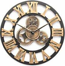 TEMPSA Horloge Murale Design Vintage Originale en