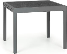 Tenerife Table de jardin extensible 90 x 90 cm