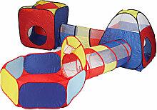 Tente enfant Aire de jeux Parc pour enfant Tunnel