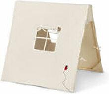 Tente enfants Coccinelle / Tissu & bois - Pliable