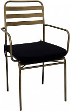 TERRAZZO - Chaise de repas bronze