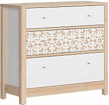 TERRY - Commode d'enfant qui style scandinave