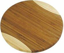 Tescoma Planche à découper Circulaire en Bambou