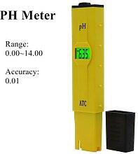 Testeur de PH LCD précision 0.01, calibrage