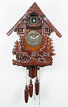 Tesysyet Horloge Murale En Bois Vintage
