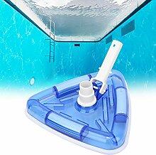 Tête d'aspirateur de piscine robuste et