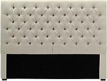 Tête de lit 160 cm AURELE - Lin - Beige sable