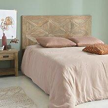 Tête de lit en bois de teck recyclé 165 cm -
