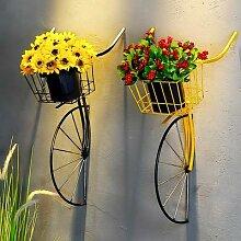 Tête de vélo en fer forgé rétro créatif,