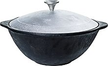 TEXAS CLUB Uzbek Kazan Marmite en fonte avec