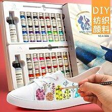 Textile pigment de fibres peinture acrylique