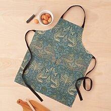 Textile vintage paon et dragon de la collection