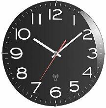 TFA 60.3509 Horloge Murale Radio-pilotée (Noir