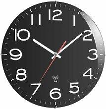 TFA 60.3509 Horloge Murale Radio-pilotée Noir