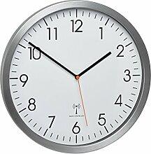 TFA-Dostmann–Aluminium de Radio Horloge