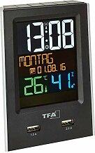 TFA Dostmann Charge-IT 60.2537.01 Radio-réveil