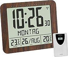 TFA Dostmann Horloge Murale Radio-pilotée Aspect